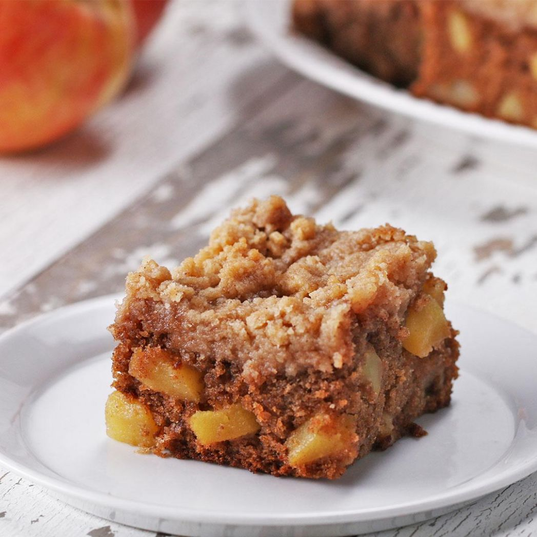 Apple Pie Crumble Blondies Recipe by Tasty - Dessert Recipes Tasty