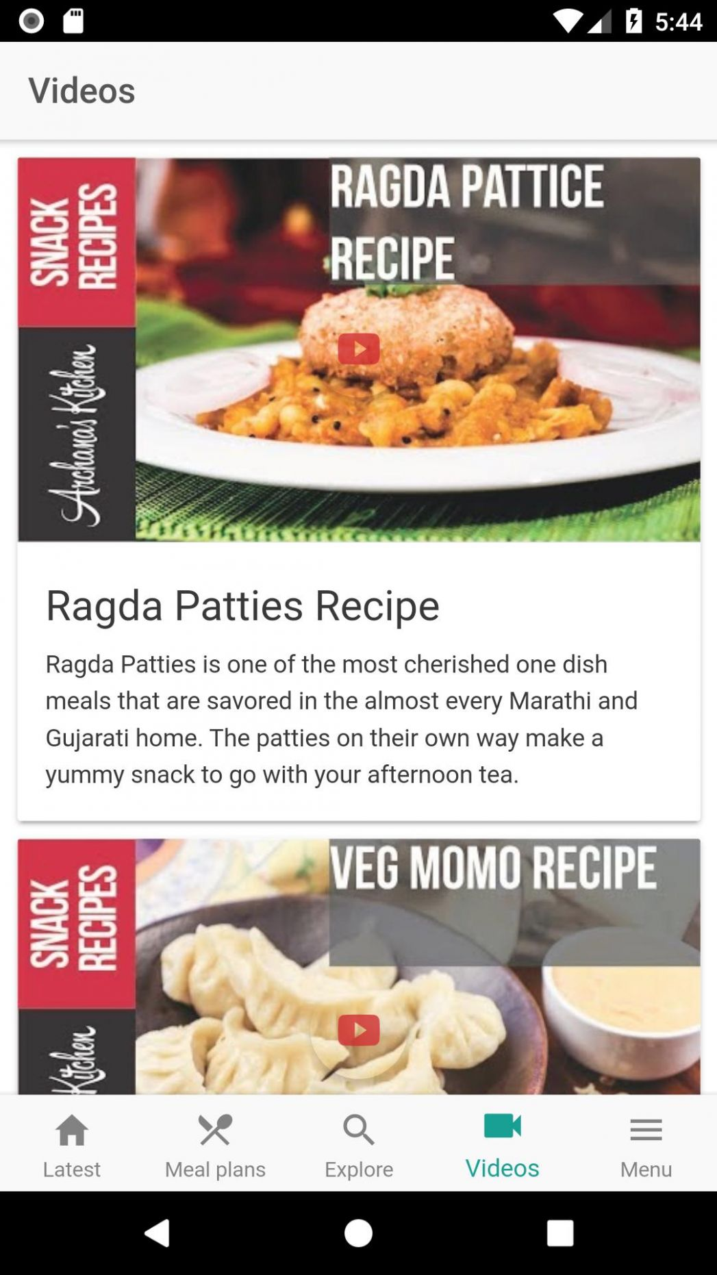 Archana's Kitchen - Simple Recipes & Cooking Ideas for Android ...
