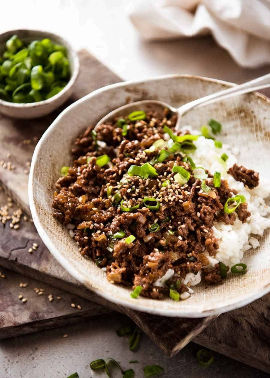 Asian Beef Bowls - Beef Recipes Quick And Easy
