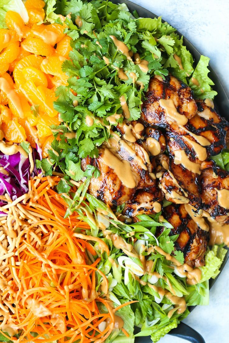 Asian Chicken Salad - Salad Recipes Asian
