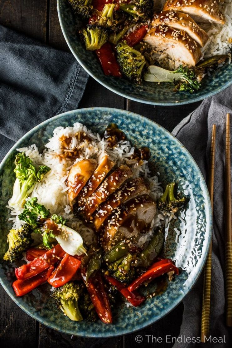 Asian Chicken Sheet Pan Dinner | The Endless Meal® - Healthy Recipes Asian