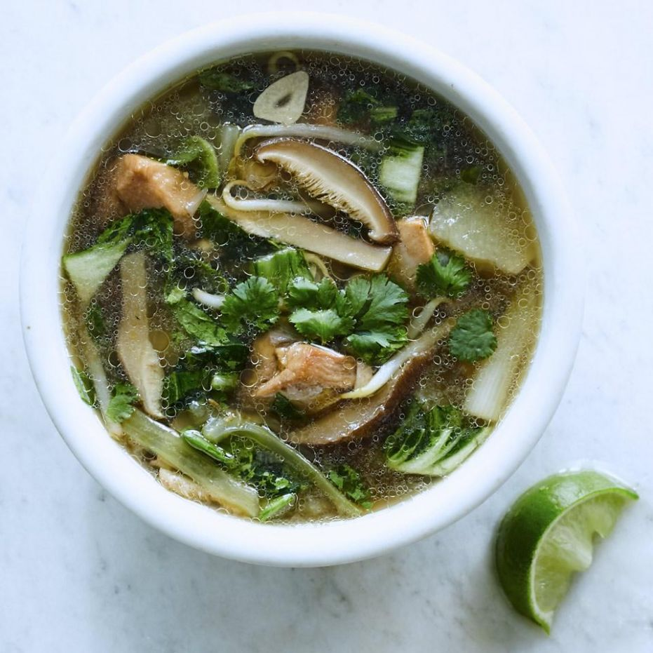 Asian-Inspired Chicken Soup - Soup Recipes Asian