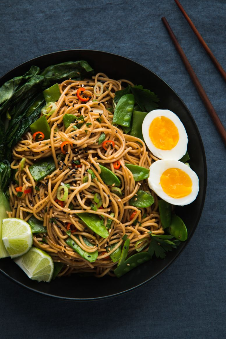 Asian Inspired Chili Garlic Noodles - Will Cook For Friends