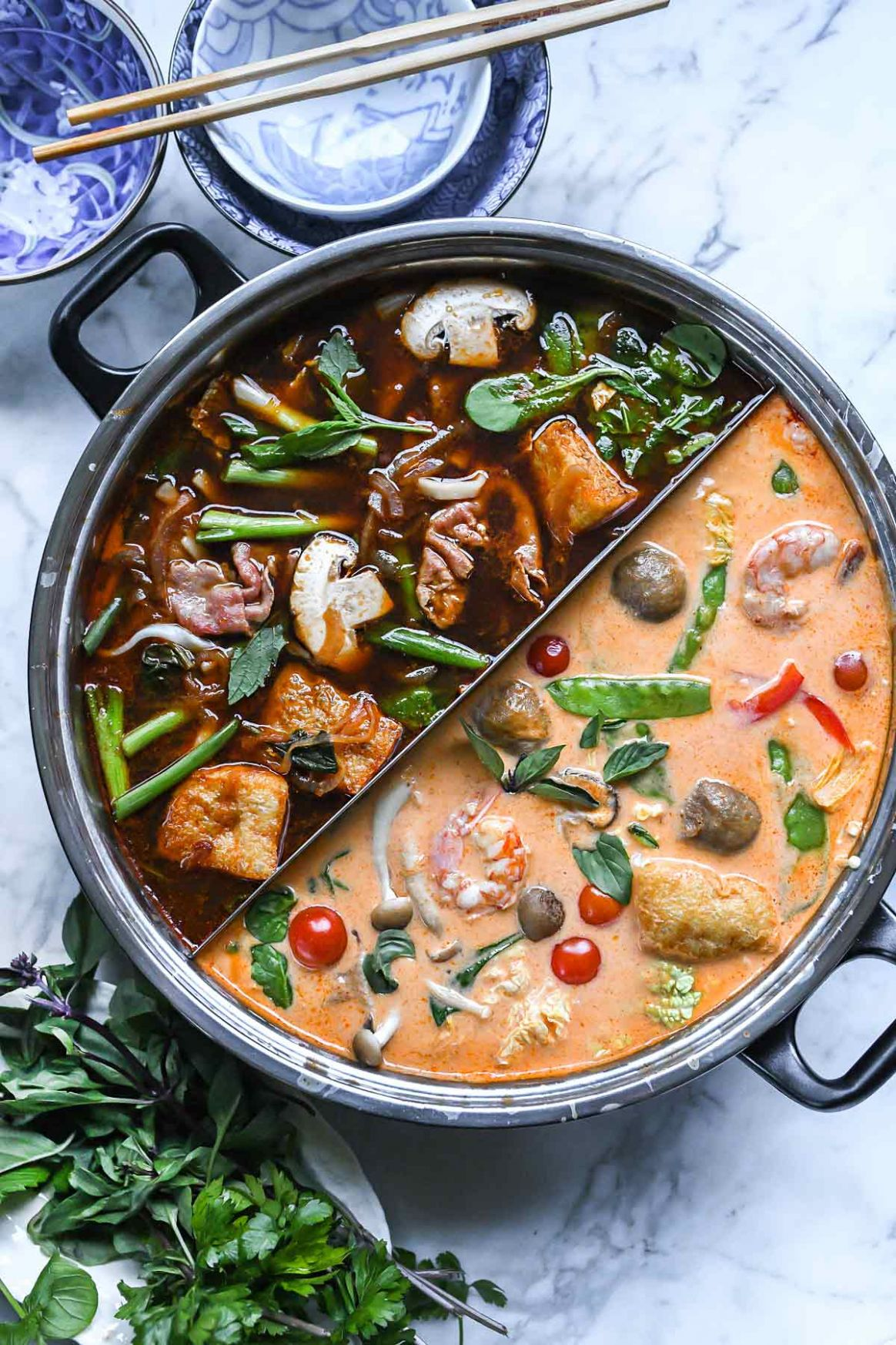 Asian Red Curry Hot Pot Broth - Simple Recipes Asian