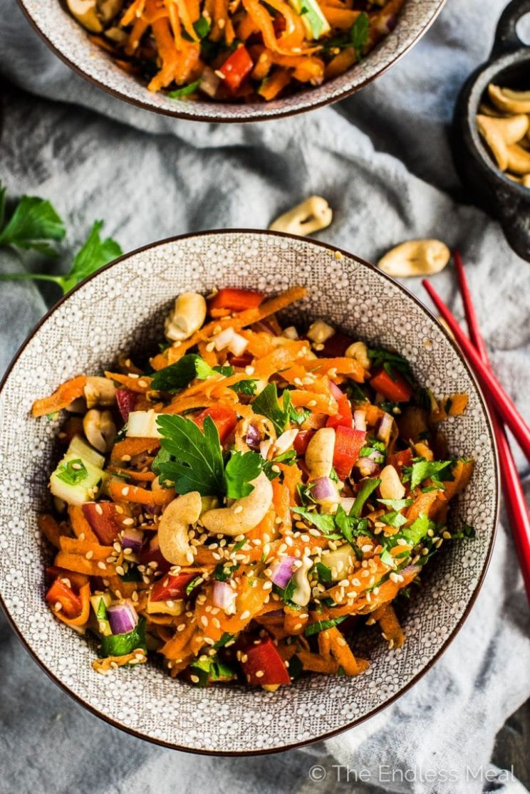 Asian Salad Recipe - Salad Recipes Asian