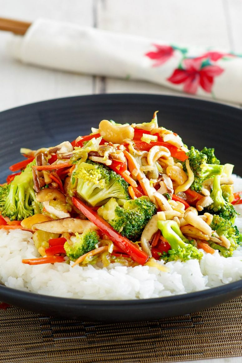 Asian Vegetable Stir Fry - Vegetable Recipes With Ingredients And Procedure