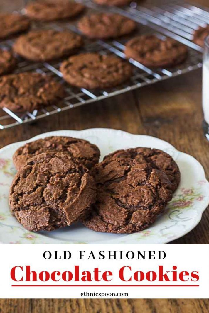 Aunt Lou's Chocolate Drop Cookies