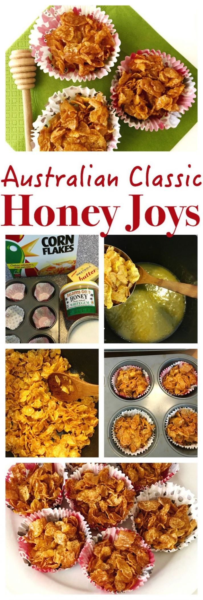 Australian Honey Joys - Easy Recipes Australia