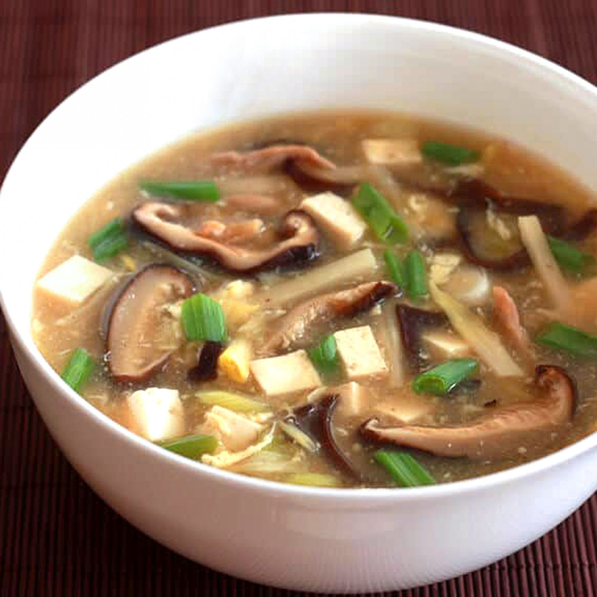 Authentic Chinese Hot and Sour Soup - Soup Recipes Asian
