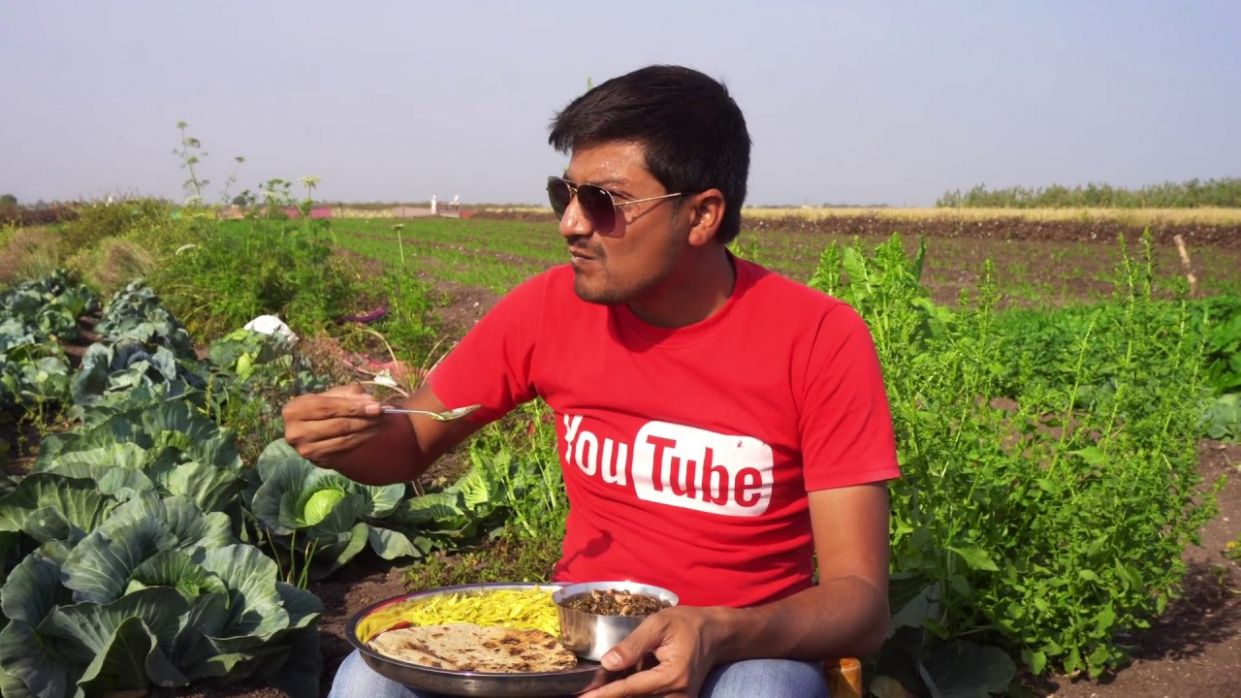 Authentic Gujarati Food Cooking in a Village | Unknown Recipes - Gujarati Food Recipes Youtube