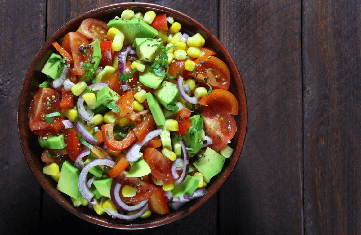 Avocado, Tomato and Corn Salad - Salad Recipes Kenya