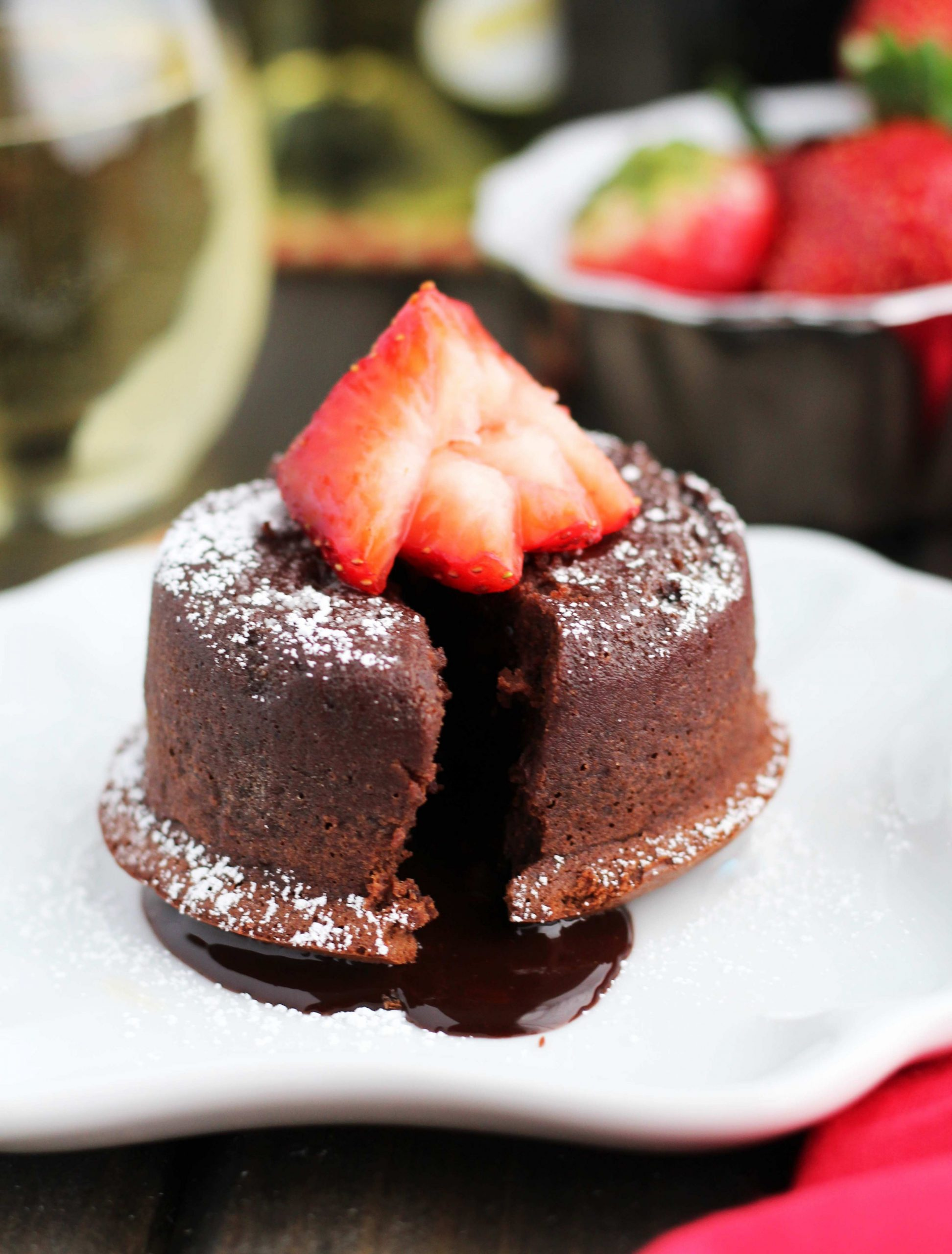 Bailey Molten Chocolate Lava Cakes for 9