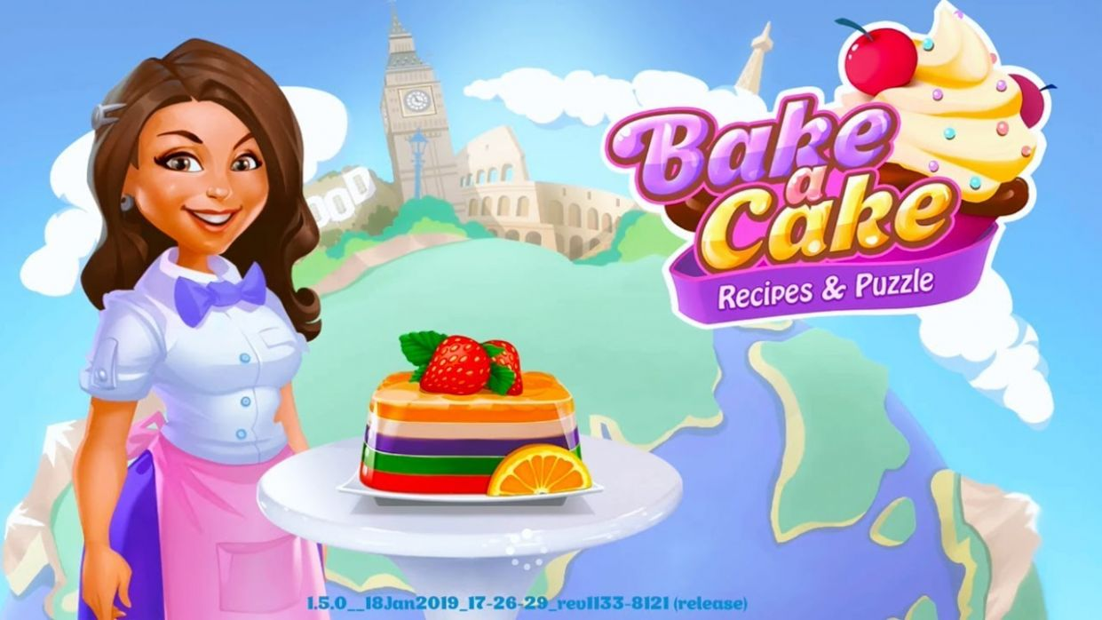 Bake a Cake Puzzles & Recipes - Android Gameplay ᴴᴰ