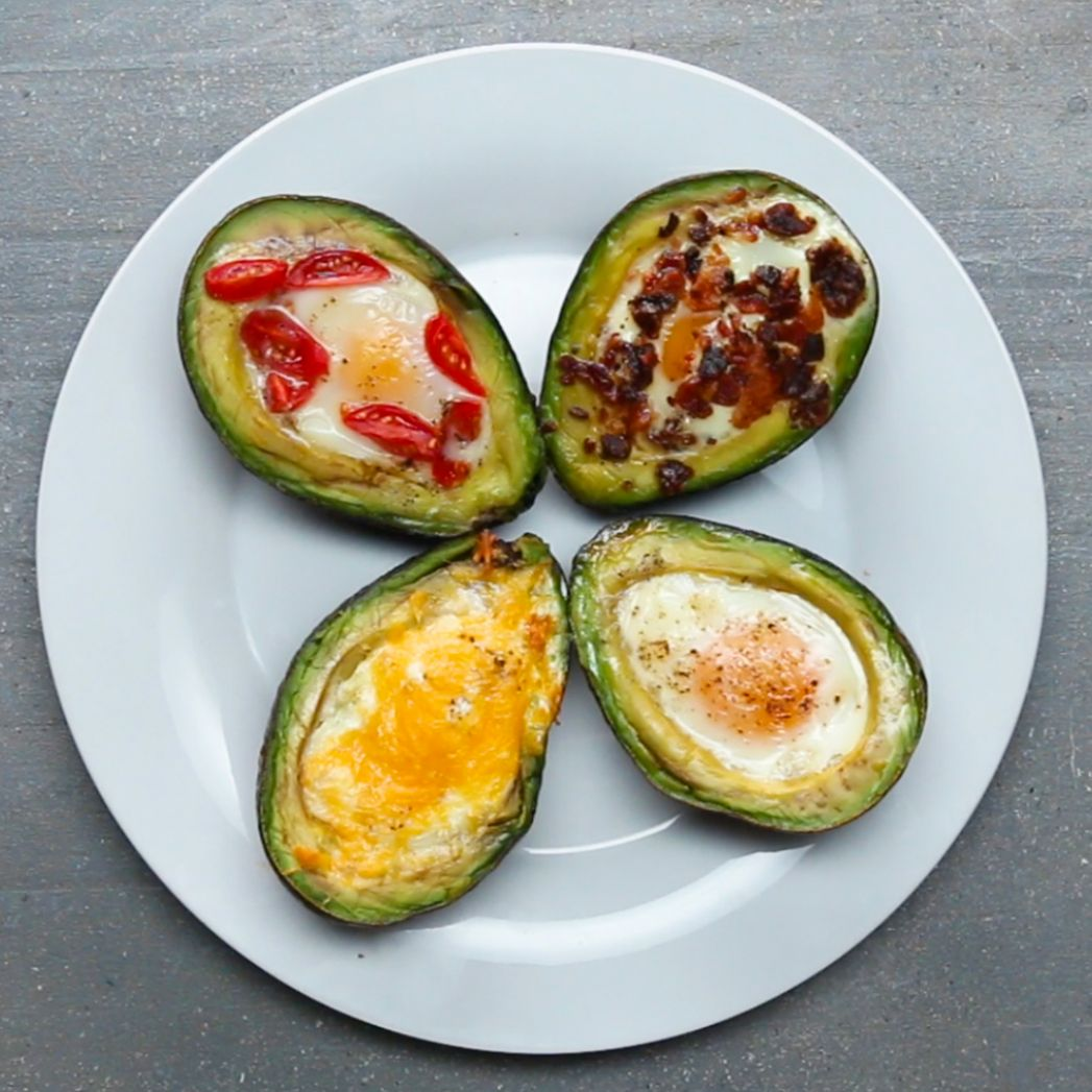 Baked Avocado Eggs Recipe by Tasty - Recipes Egg Avocado