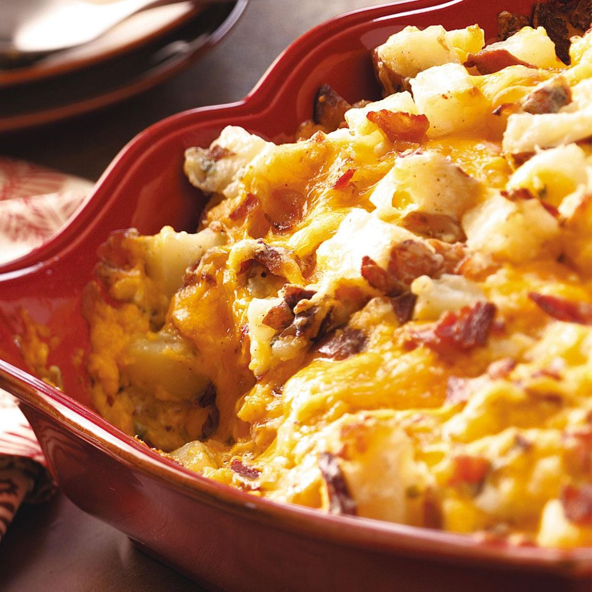 Baked Potato Casserole - Recipes Potato Casserole