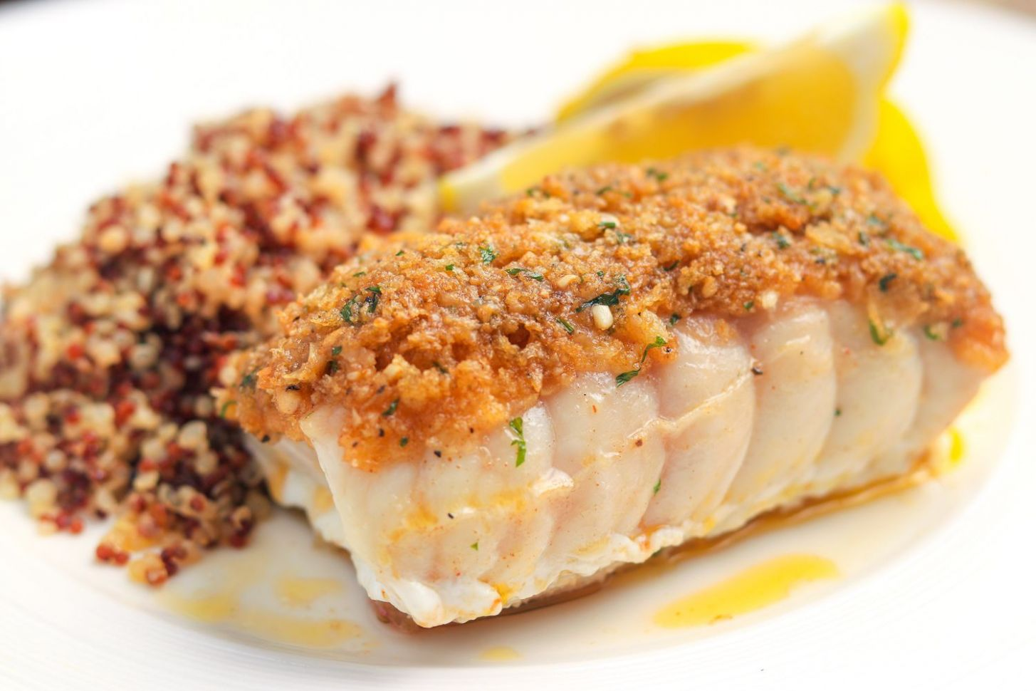 Baked Red Snapper With Garlic and Herbs Recipe - Fish Recipes Red Snapper