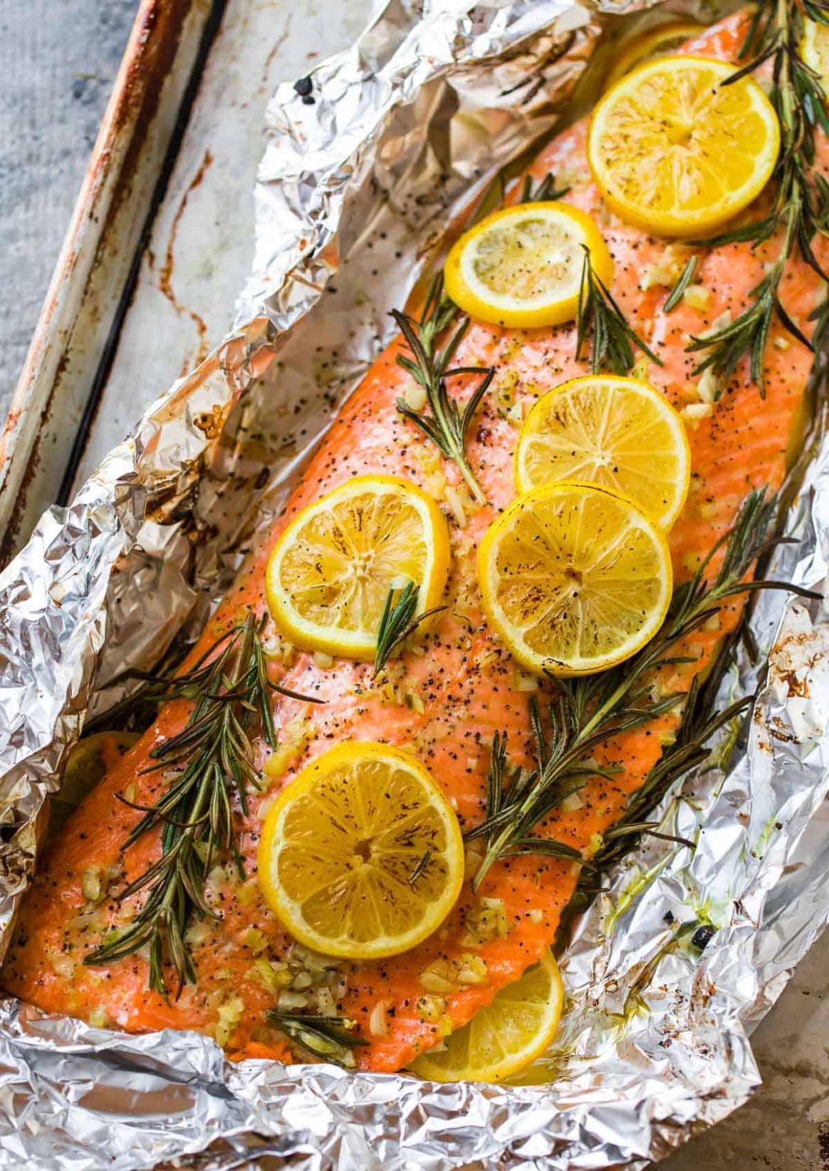 Baked Salmon in Foil - Easy Recipes Salmon