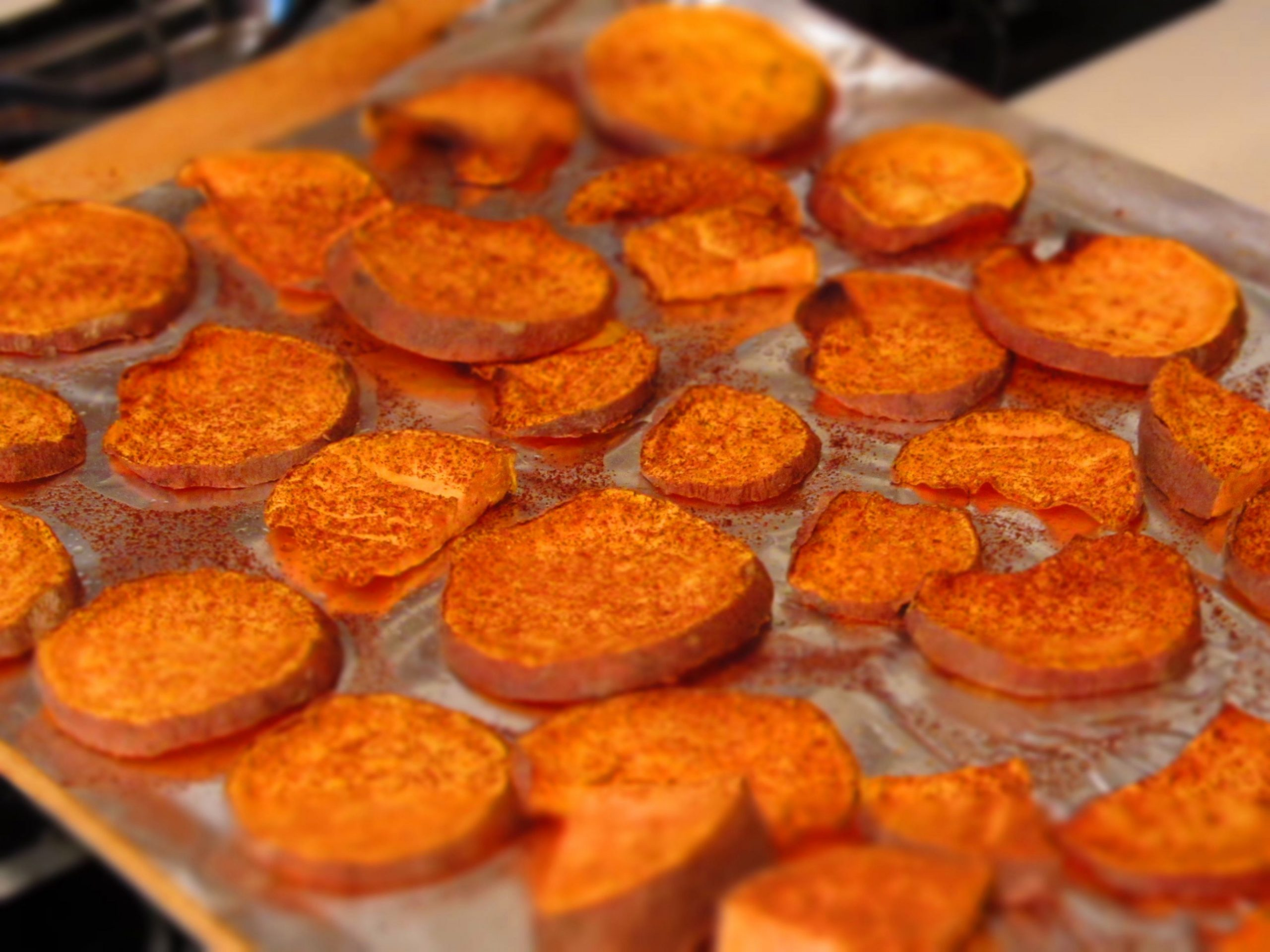 Baked Sweet Potato Slices | Sweet potato recipes baked, Baked ...