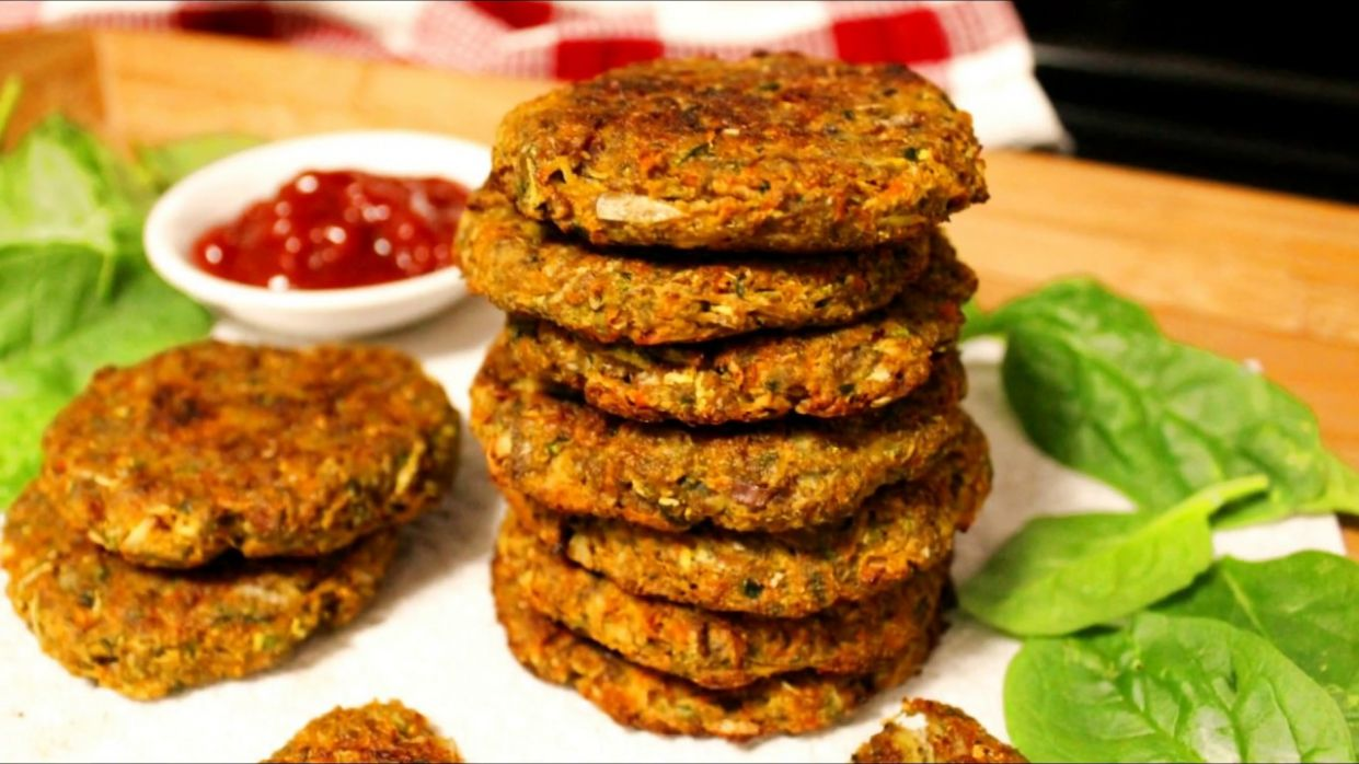 Baked Vegetable Patties Recipe (Vegan & Grain-free) | Vegan Patties | How  to make Vegetable Patty