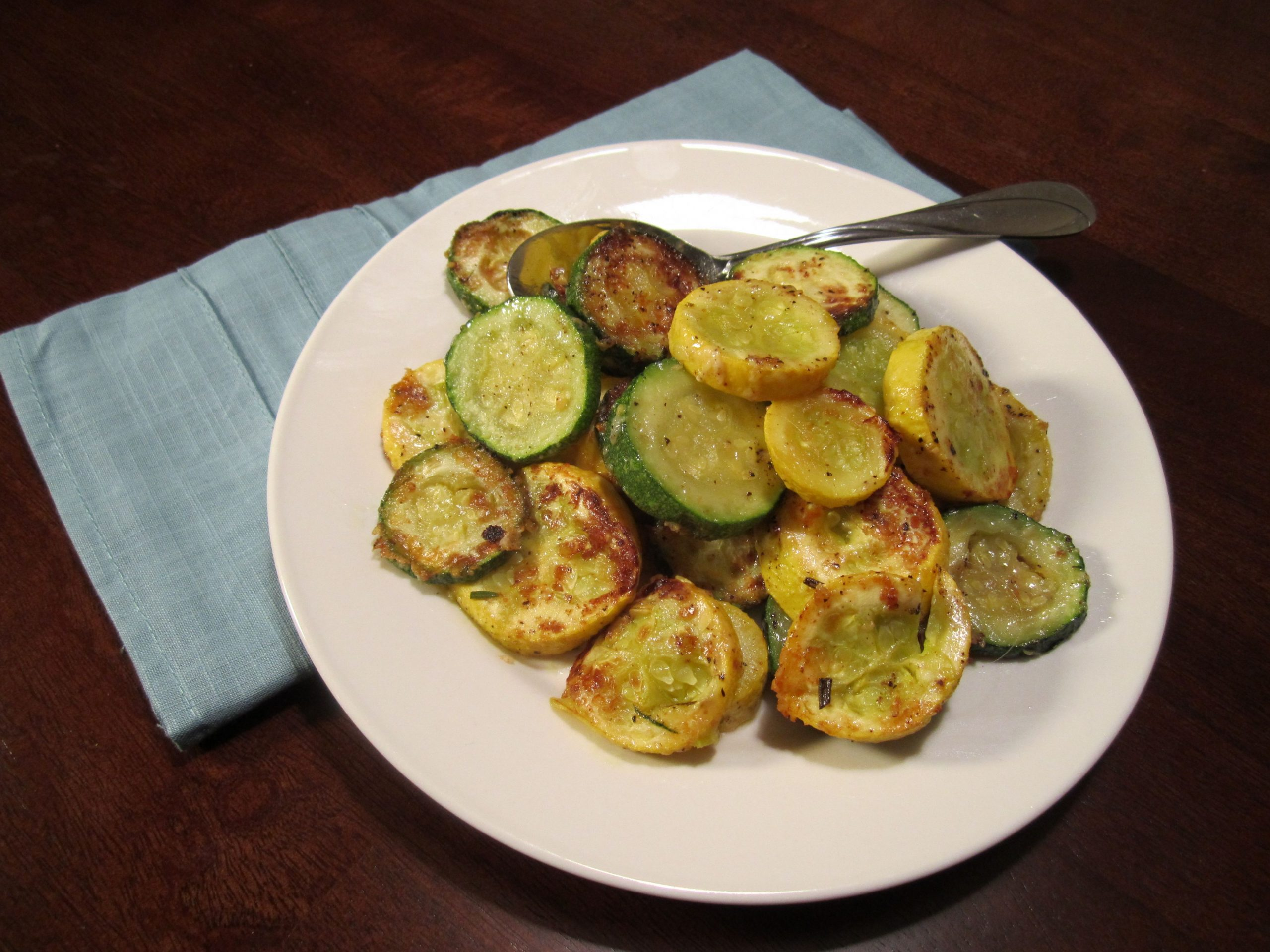 Baked Zucchini and Squash - Eat. Drink. Love.
