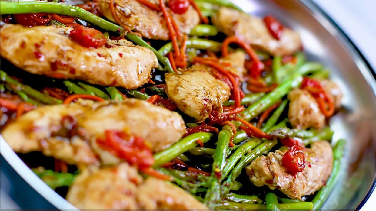 Balsamic Chicken & Vegetables | Saladmaster Recipes