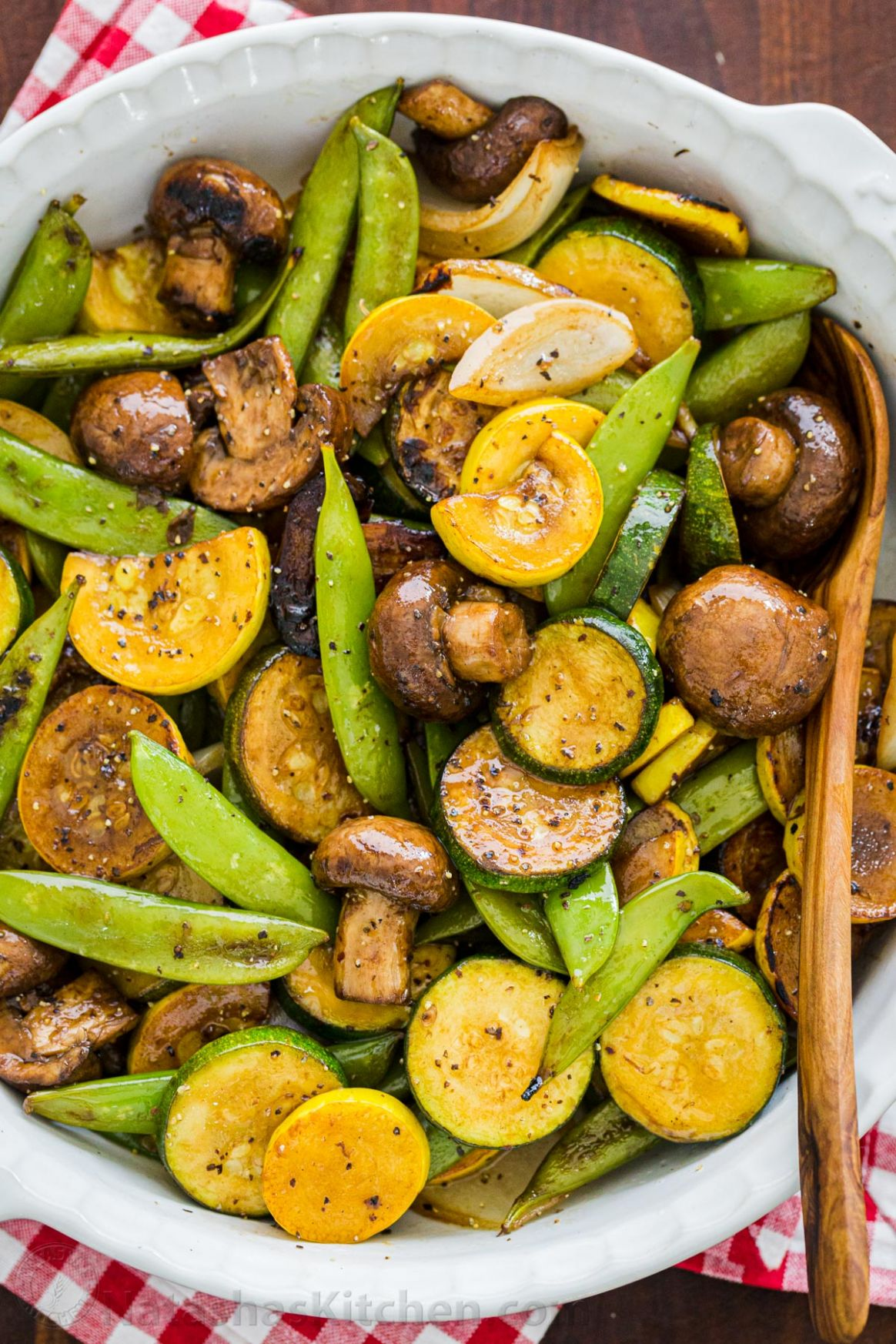 Balsamic Grilled Vegetables - Recipes Vegetables On The Grill