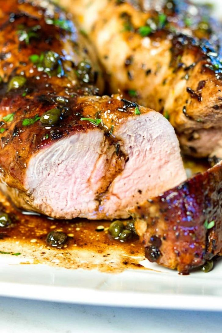 Balsamic Roast Pork Tenderloin - Pork Tenderloin Recipes