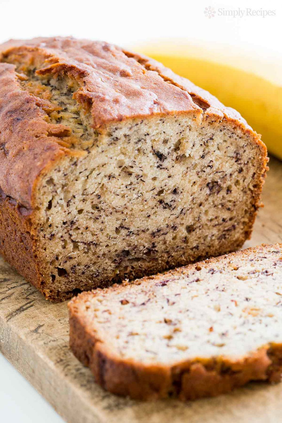 Banana Bread - Simple Recipes Banana Bread