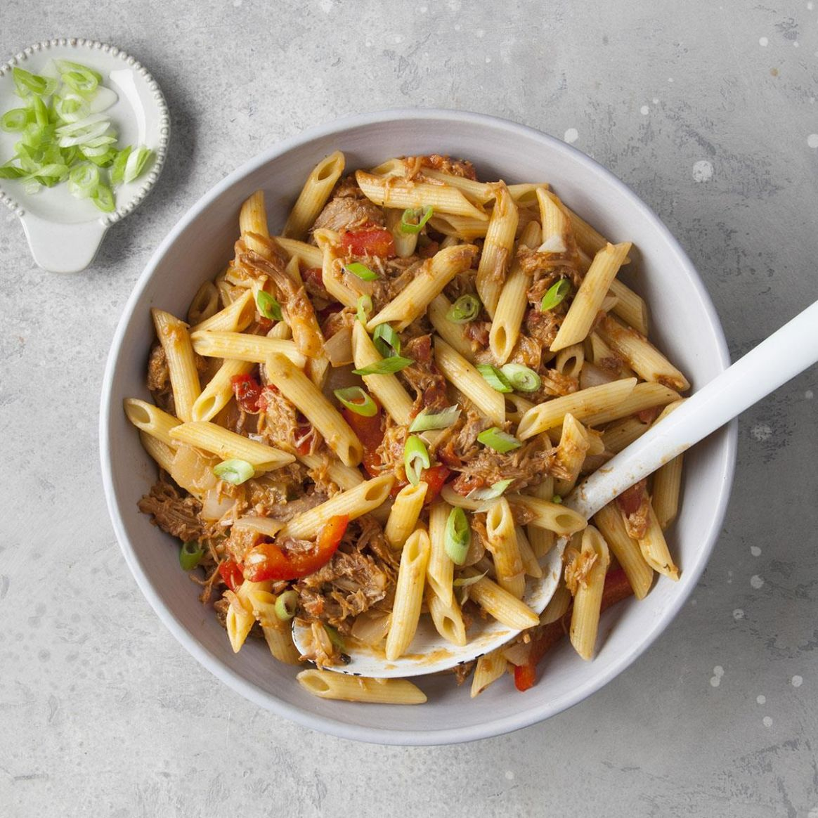 Barbecue Pork and Penne Skillet - Recipes Pork With Pasta