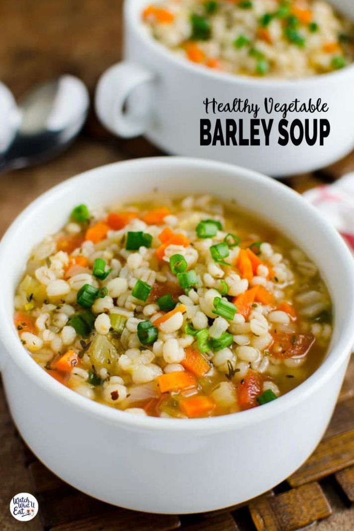 Barley Soup - Soup Recipes Easy Healthy