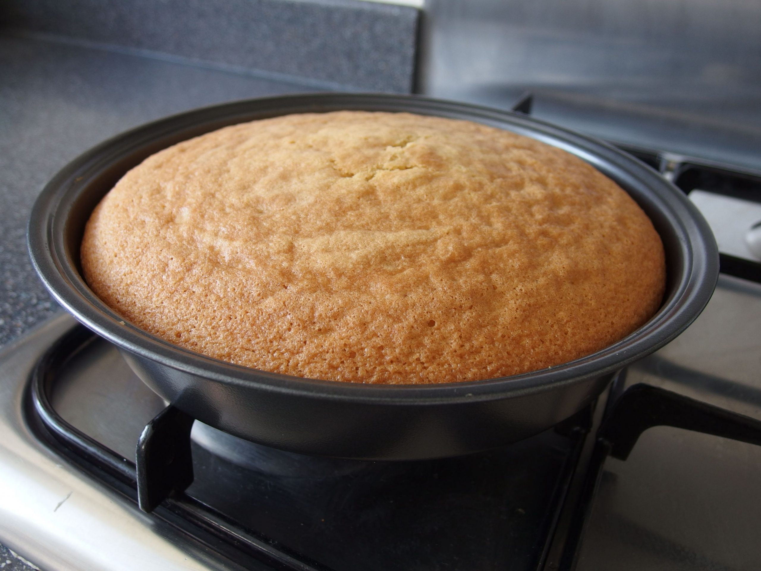 Basic plain sponge cake recipe - All recipes UK - Cake Recipes Plain