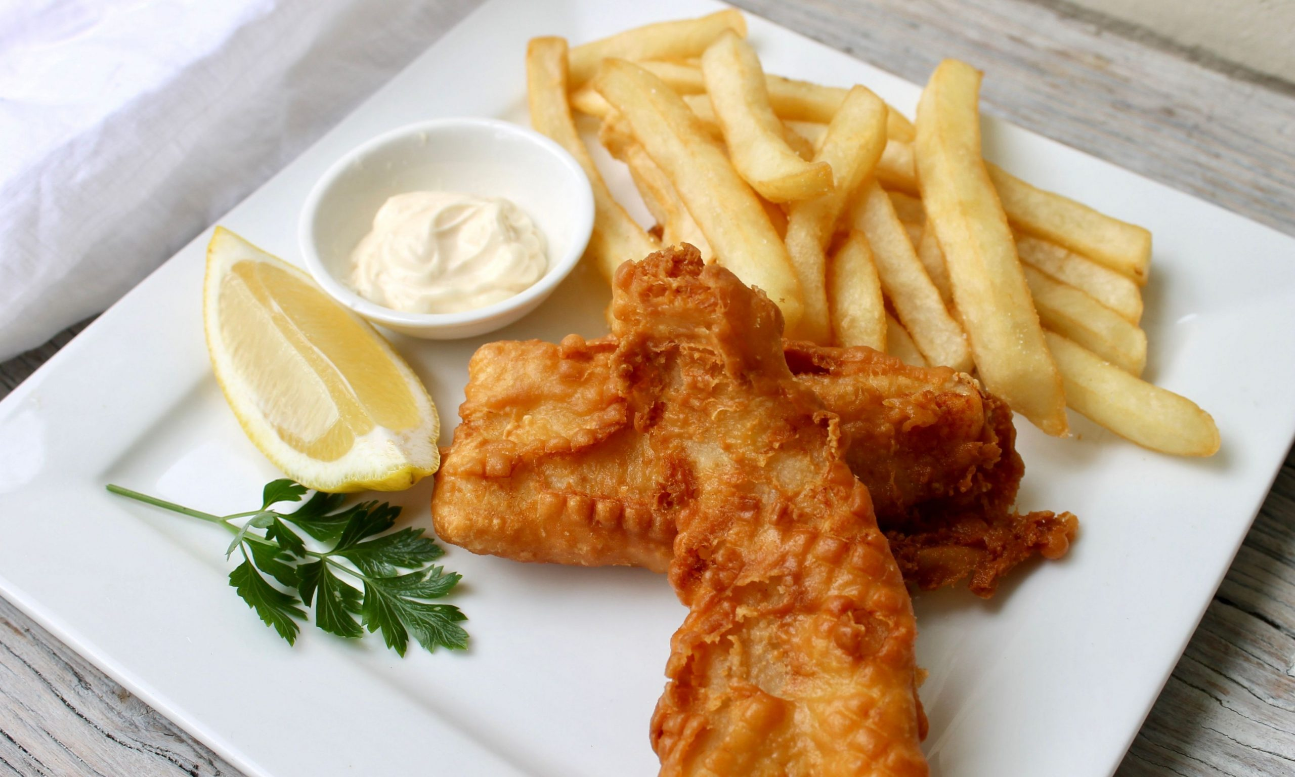 Batter recipe for fish and chips