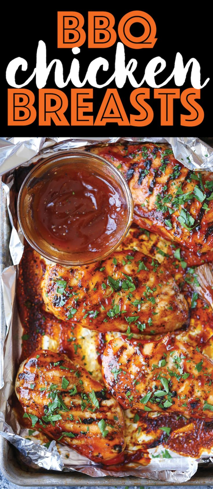 BBQ Chicken Breasts - Damn Delicious
