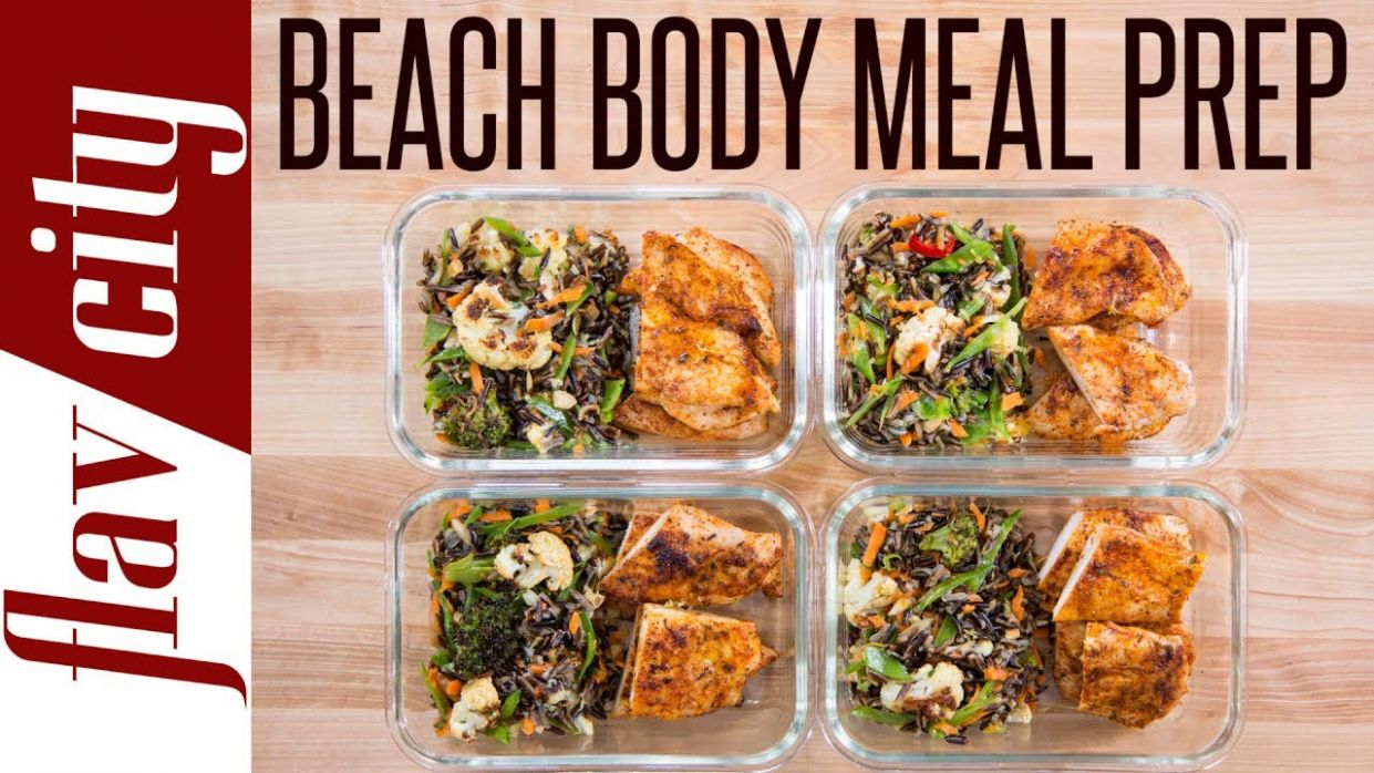 Beach Body Meal Prep - Tasty Weight Loss Recipes With Chicken Breasts