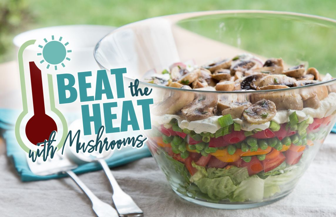 Beat the Heat with Cool Mushroom Recipes for Summer
