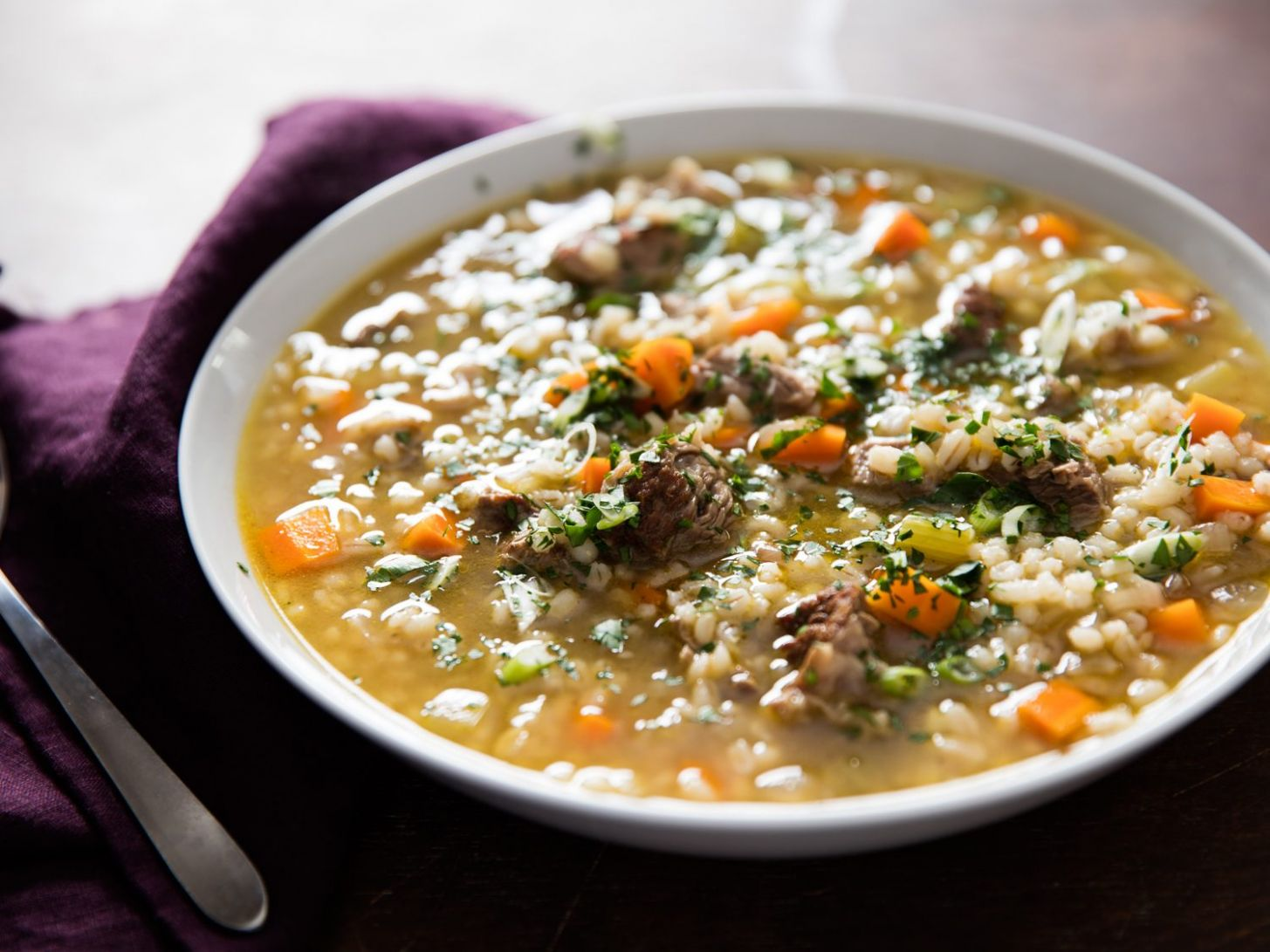 Beef Barley Soup Recipe - Recipes Beef Barley Soup