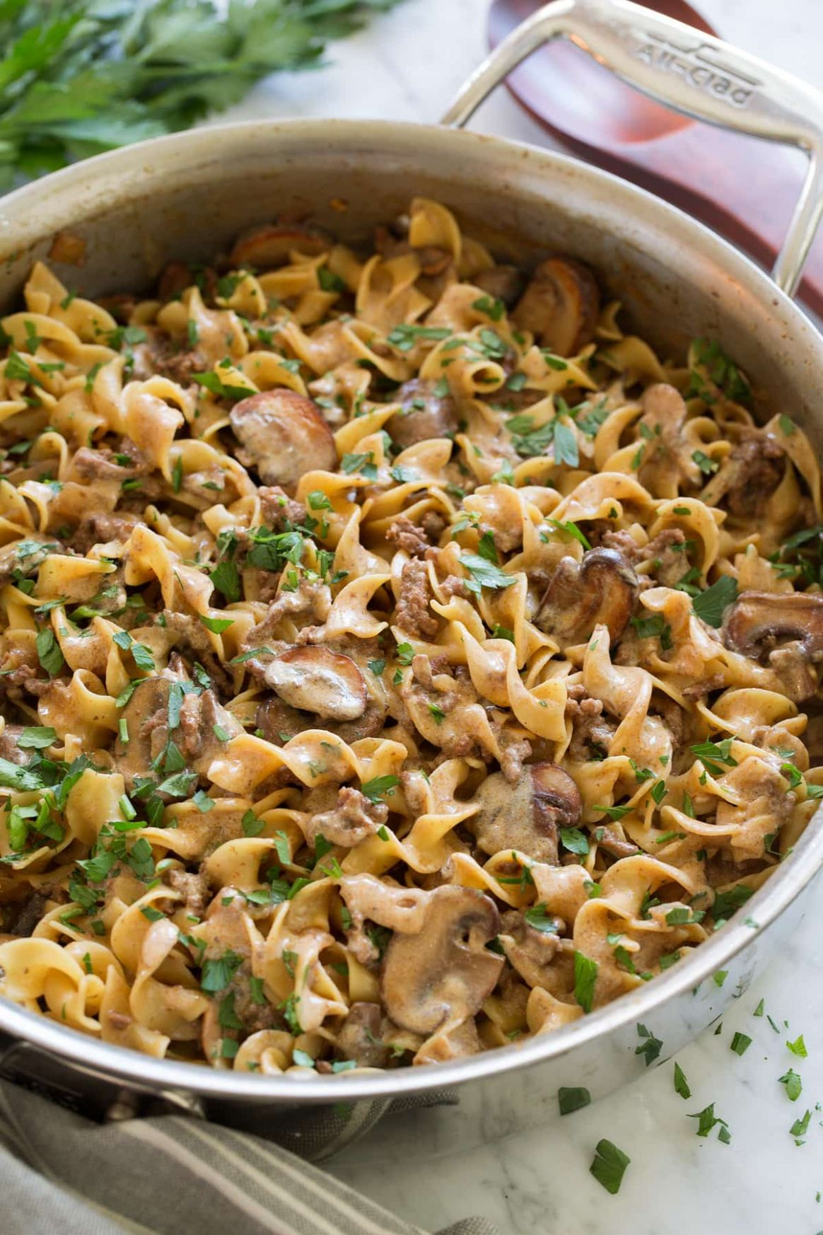 Beef Stroganoff Easy One Pot Recipe! - Cooking Classy