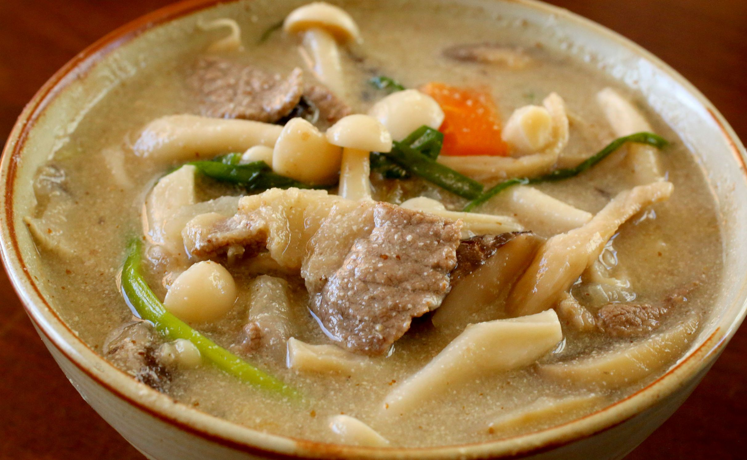 Beoseot-deulkkae-tang - Soup Recipes Korean