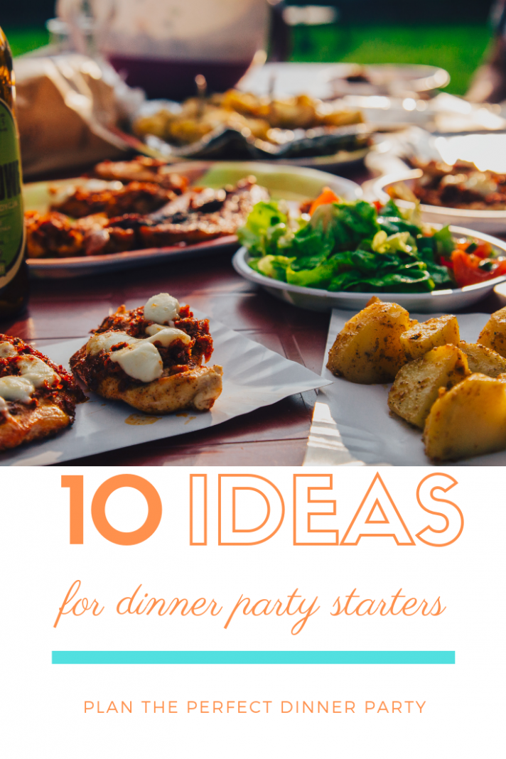 Best dinner party starter ideas! Dinner party starts, dinner party ..