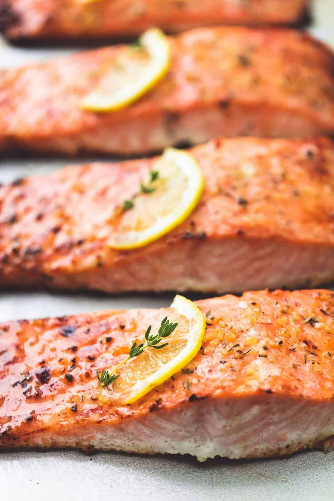 Best Easy Healthy Baked Salmon | Creme De La Crumb