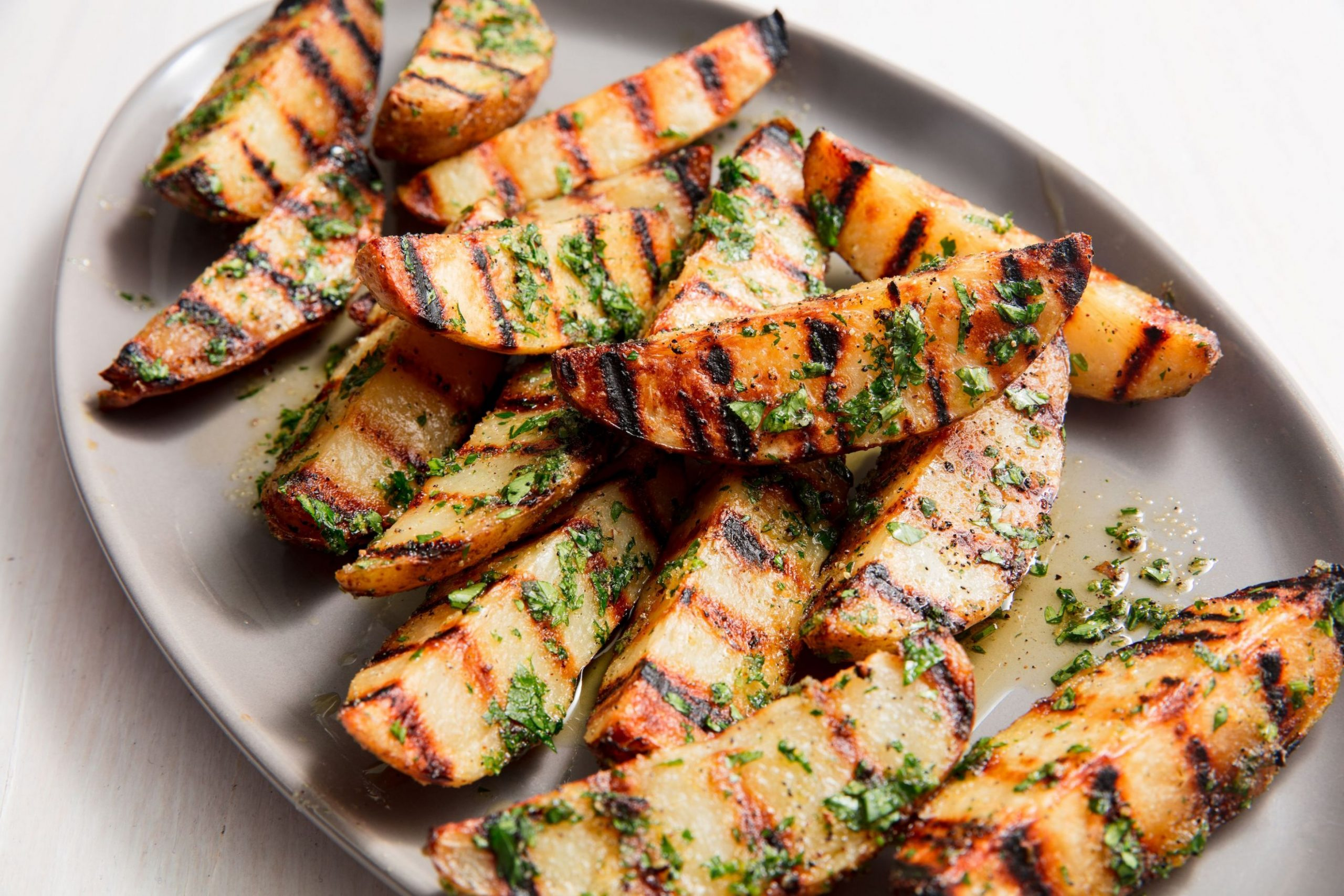 Best-Ever Grilled Potatoes - Potato Recipes Grill