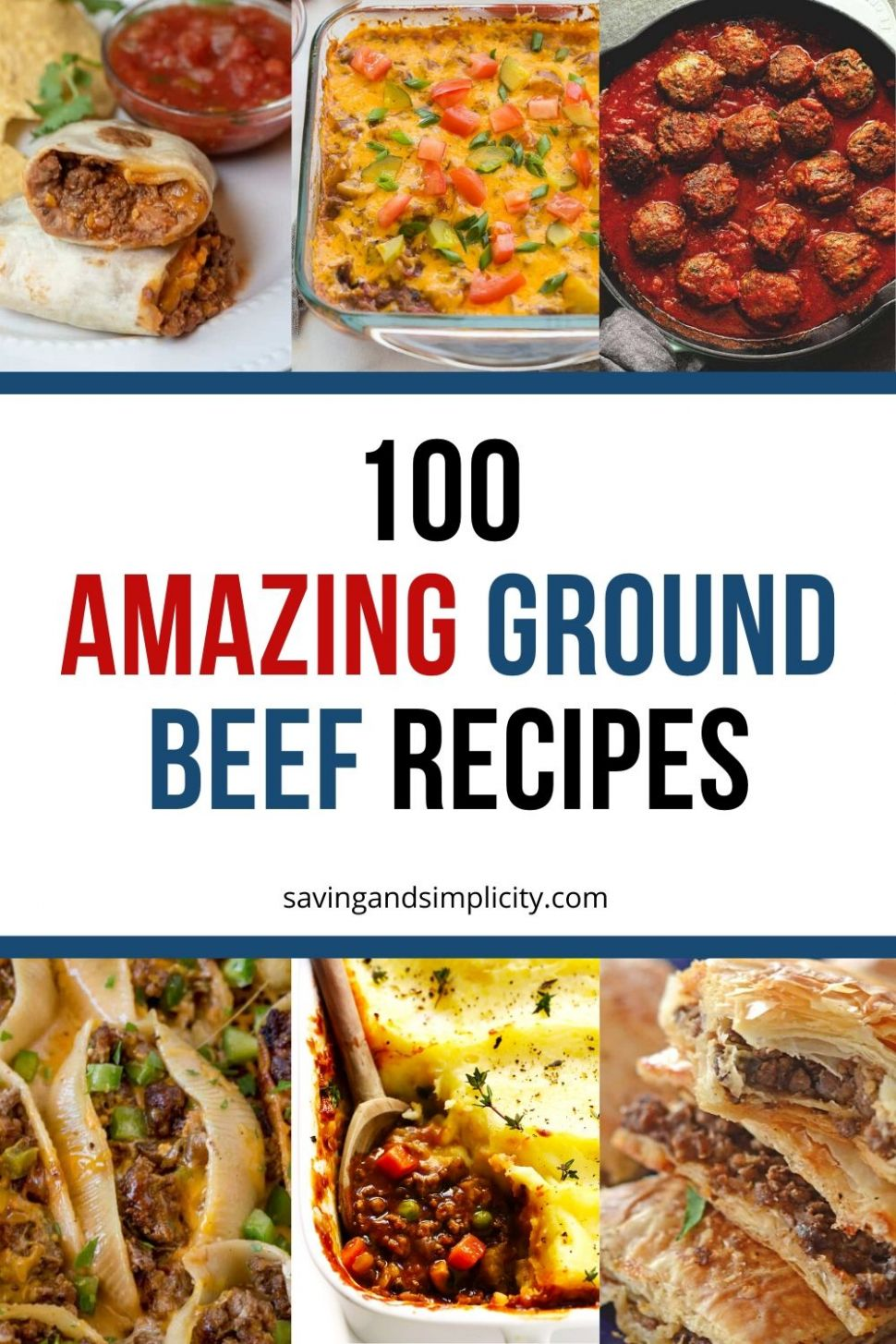Best Ground Beef Recipes - Saving & Simplicity