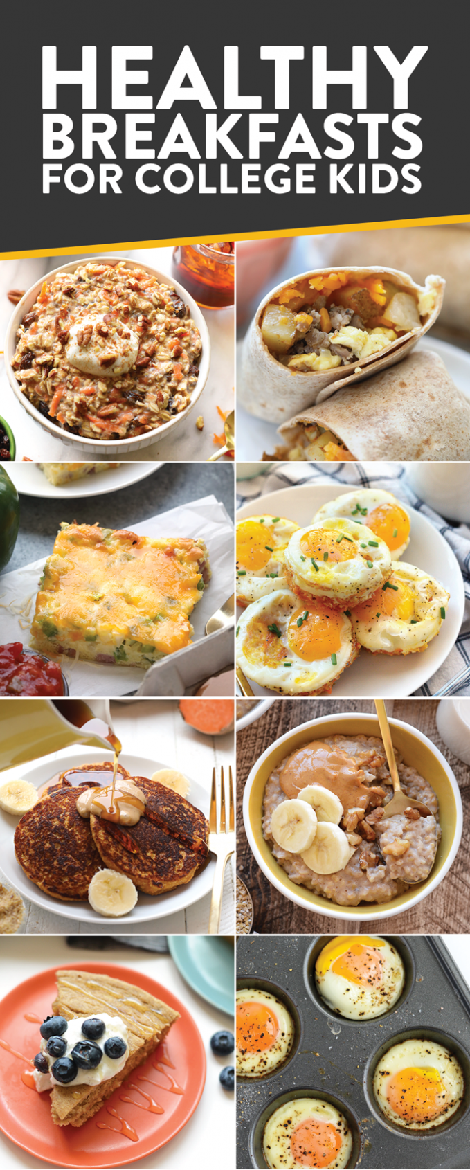 Best Healthy College Meals (budget-friendly) - Fit Foodie Finds - Food Recipes College