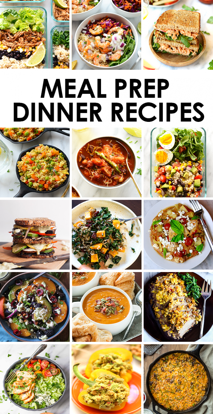 Best Meal Prep Recipes: Dinners | Fit Foodie Finds - Recipes Dinner This Week
