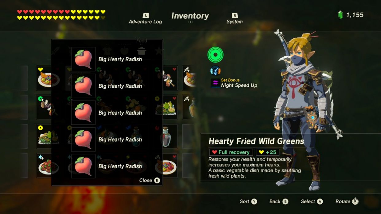 Best Recipes? - The Legend of Zelda: Breath of the Wild Message ..