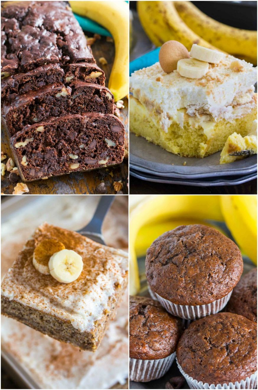 Best Ripe Banana Recipes [VIDEO] - Sweet and Savory Meals - Easy Recipes Ripe Bananas