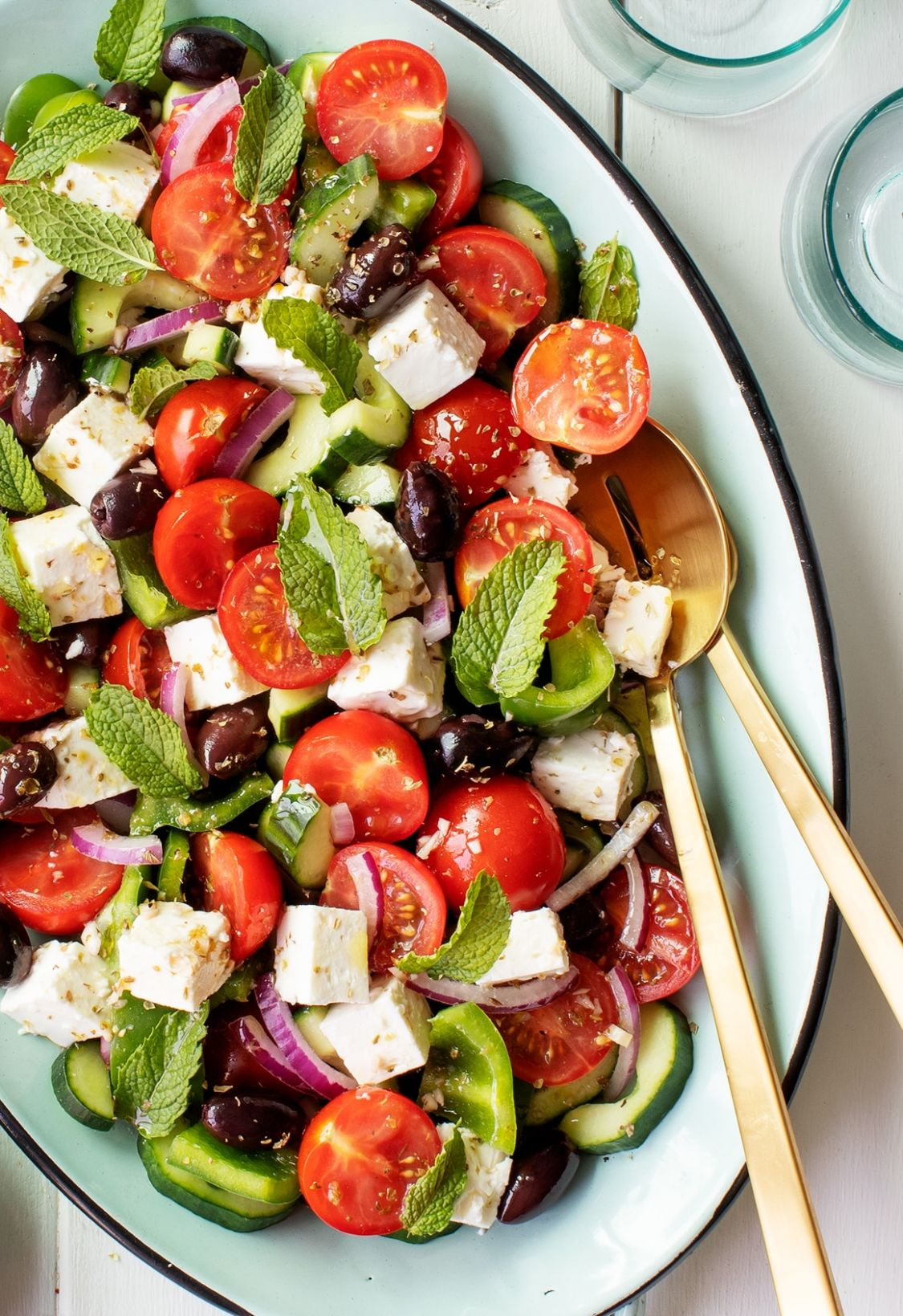 Best Salad Recipes: Easy Greek Salad - Salad Recipes You Can Make At Home