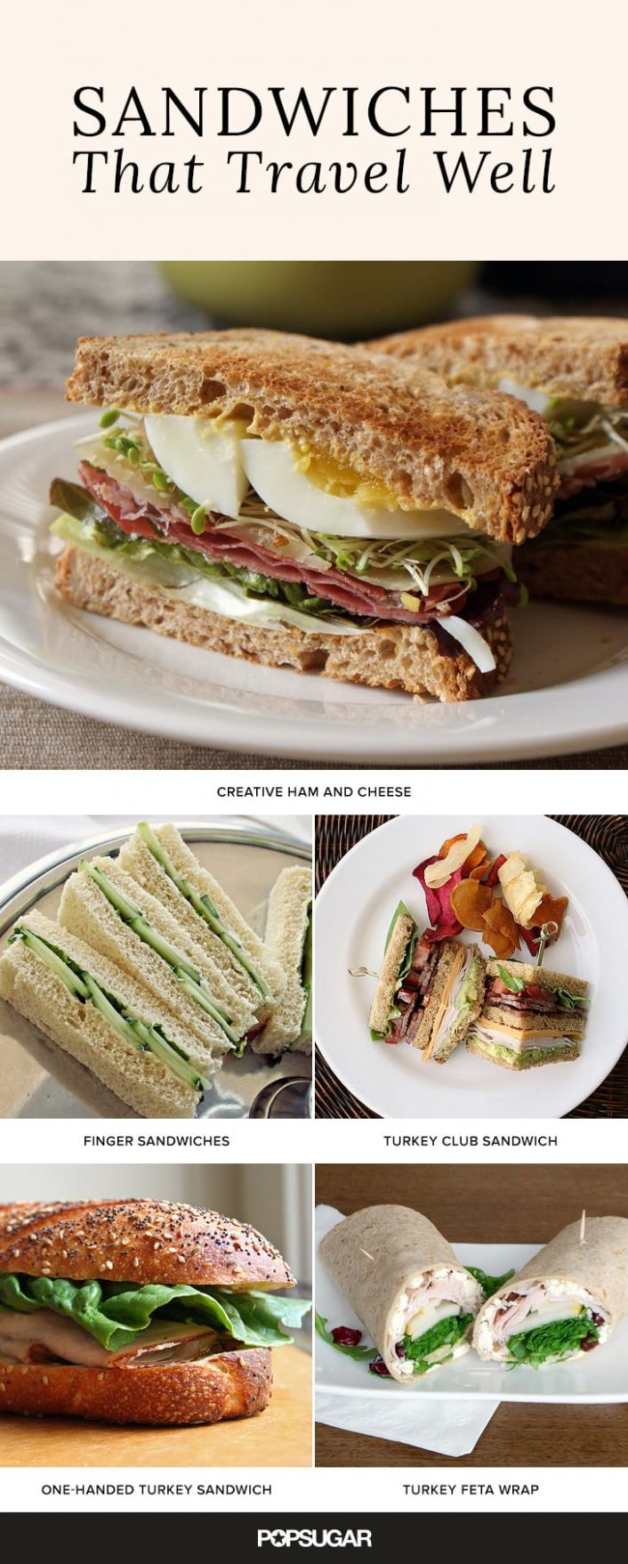 Best Sandwiches For Traveling | POPSUGAR Middle East Food