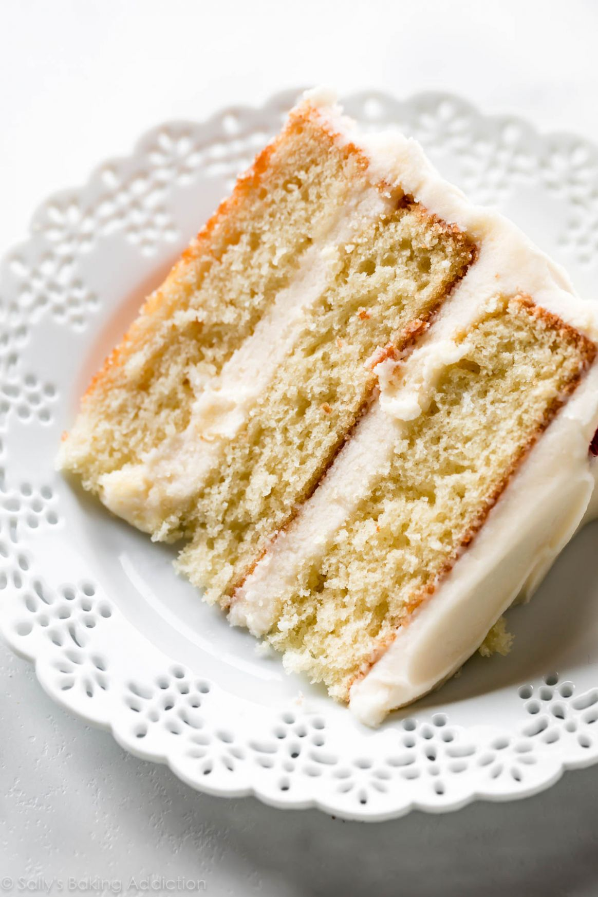 Best Vanilla Cake - Dessert Recipes Vanilla