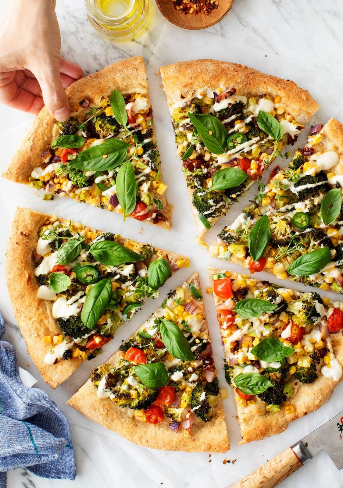 Best Vegan Pizza - Pizza Recipes Vegetarian